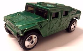 50th Humvee