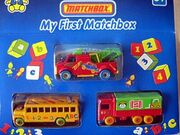 My First Matchbox (3 Set)