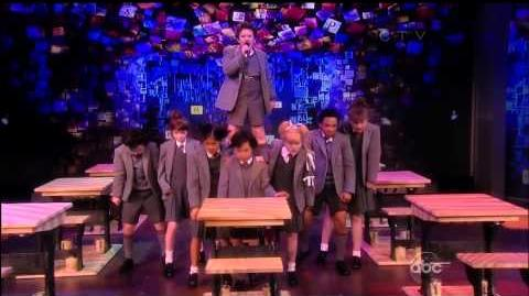 Cast of Broadway's Matilda the Musical Performs on The View