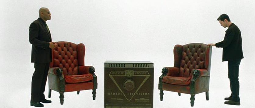 Afbeeldingsresultaat voor matrix neo and morpheus