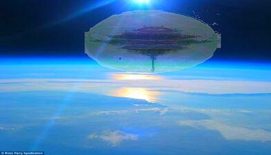 Atlantean Star Castle in orbit FotoFlexer Photo