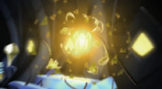 Metal Elementor assuming his Ultralink form