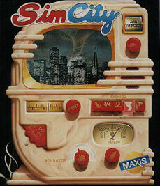SimCity Classic cover art