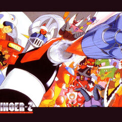 A Wallpaper of Mazinger Z through out the series.