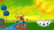 Super Saiyan 3 Goku.