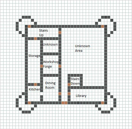 Fort Blueprints Minecraft