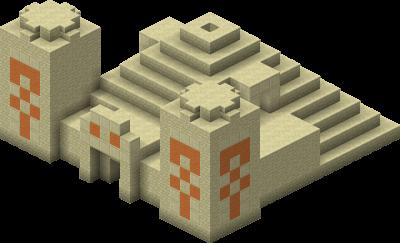 نمای معبد