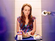 Cady at Toilet