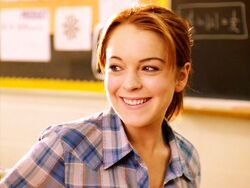 Cady smiling