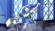 Medaka stops Yobuko's chains