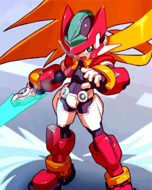 1000 Images About Mega Muppet Board On Pinterest: Megaman Zx Gallery