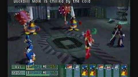 Megaman X Command Mission Duckbill Mole Part 1