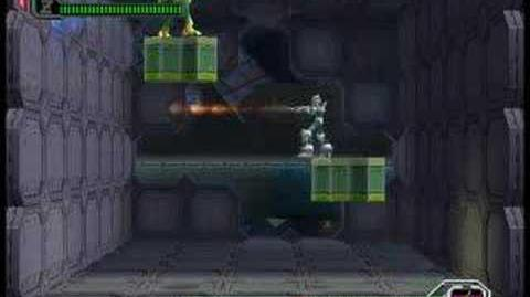 Megaman X8 Boss Optic Sunflower Hard mode no wall no damage