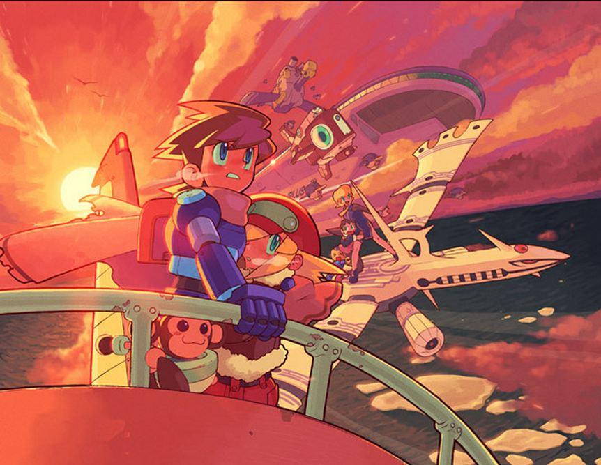 Mega Man Legends  To the Moon by tsukuruyume on DeviantArt