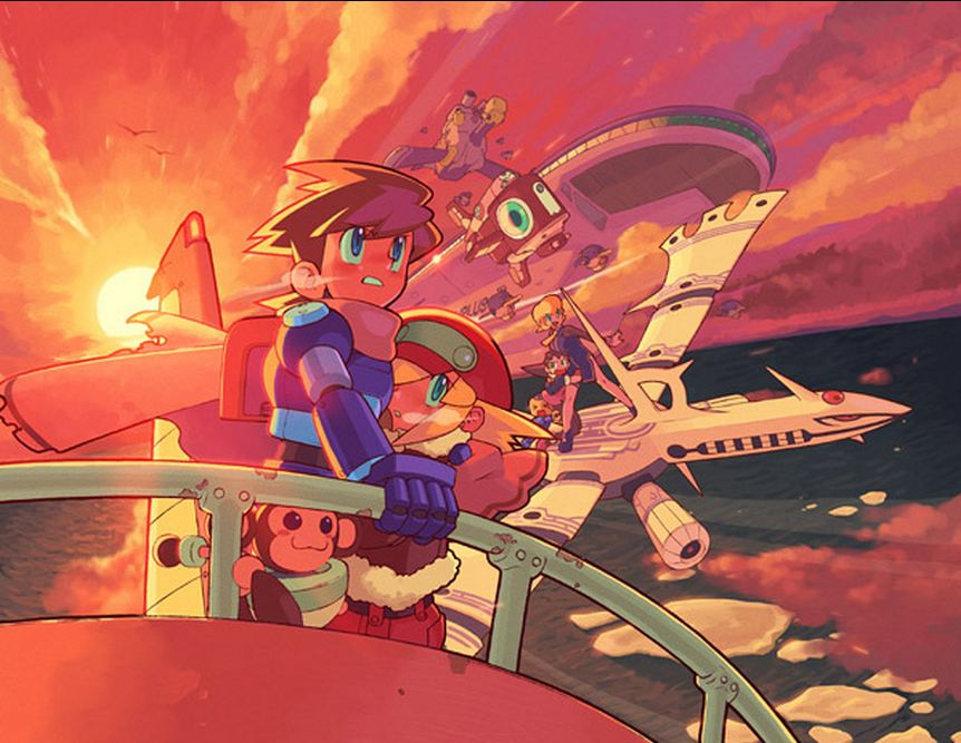 Mega Man Legends 2 na PSN Americana