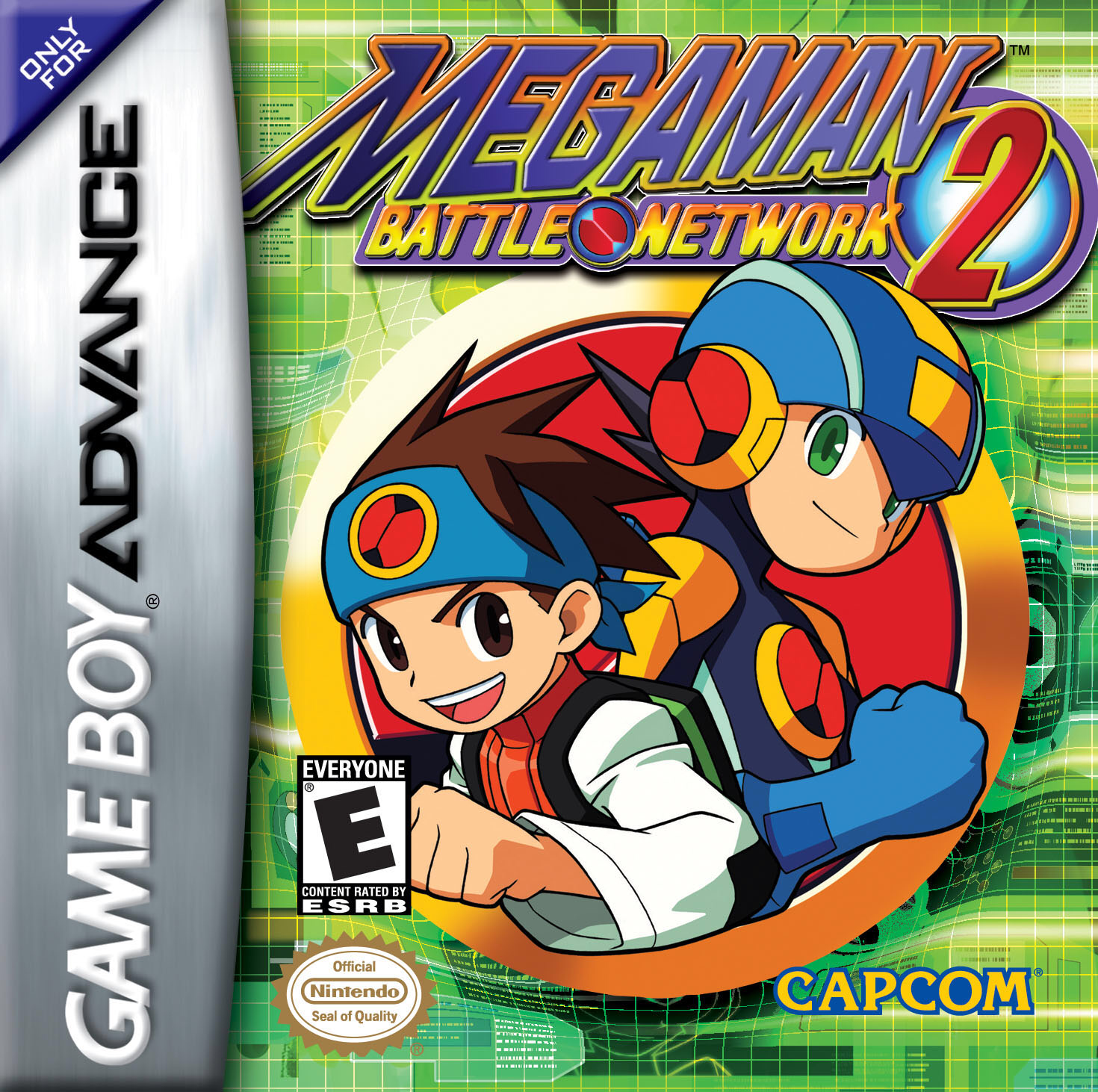 File:Mega Man Battle Network 2 Coverart.png