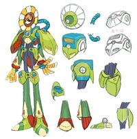 MegaManX8-OpticSunflower-ConceptArt
