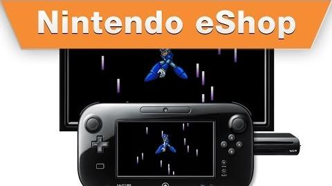 Nintendo eShop - Mega Man X2 on the Wii U Virtual Console