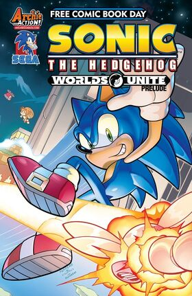 Sonic Free Comic Book Day 2015