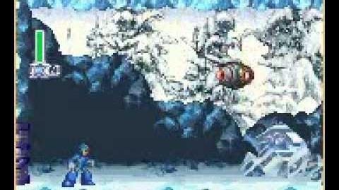 Frost Walrus Stage Megaman X4 Codebreak