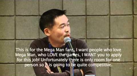 Mega Man Legends 3 Panel @ NYCC