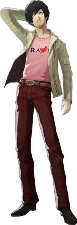 Vincent full body transparent