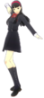 P4D Yukiko Amagi Gekkou Uniform (Limited Edition Included - DLC) change