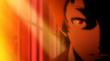 Adachi in anime cutscene of P4AU