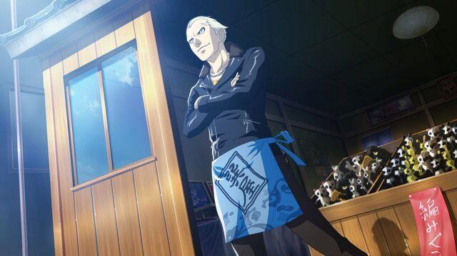 File:Kanji Tatsumi (Persona 4 Arena, Story Mode Illustration, 3).jpg
