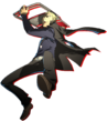 Shadow Kanji P4A Ultimax Artwork