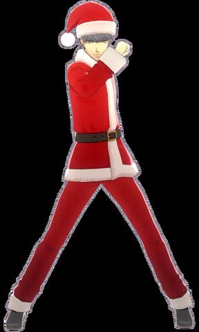 File:P4D Yu Narukami christmas costume.png
