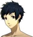 P5 portrait of Yuki Mishima's swimsuit
