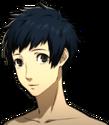 P5 portrait of Yuki Mishima's swimsuit