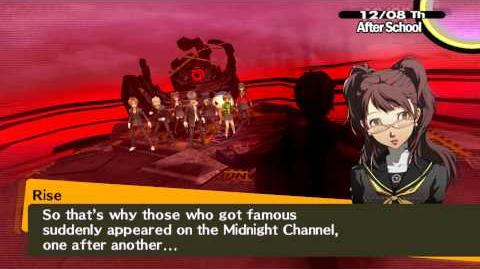 Persona 4 Boss Shadow Adachi and Ameno-Sagiri Expert