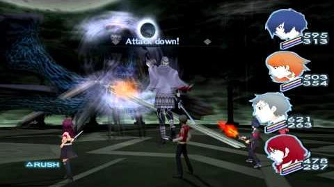 Persona 3 FES The Journey FINAL Boss NYX Hard