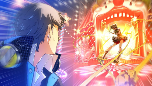 File:P4D Story Mode Tanami forcully restain and pulled to the next stage.jpg