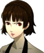 P5 portrait of Makoto Angry
