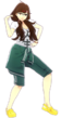 P4D Kanami Mashita plain jersey change