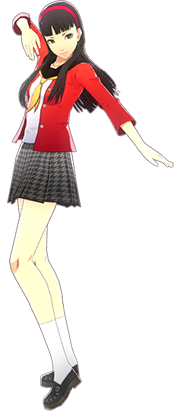 File:P4D Yukiko Amagi summer school uniform change.PNG