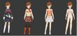 Minako Outfits