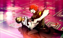 P4AU (Adachi DLC Episode, Adachi gets beat up by Minazuki)