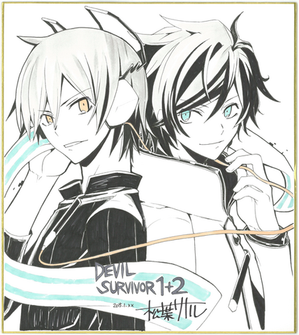 File:Kazuya and Hibiki.png