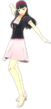 P4D Yukiko Amagi summer outfit change