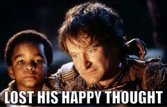 Robin Williams Happy Thought