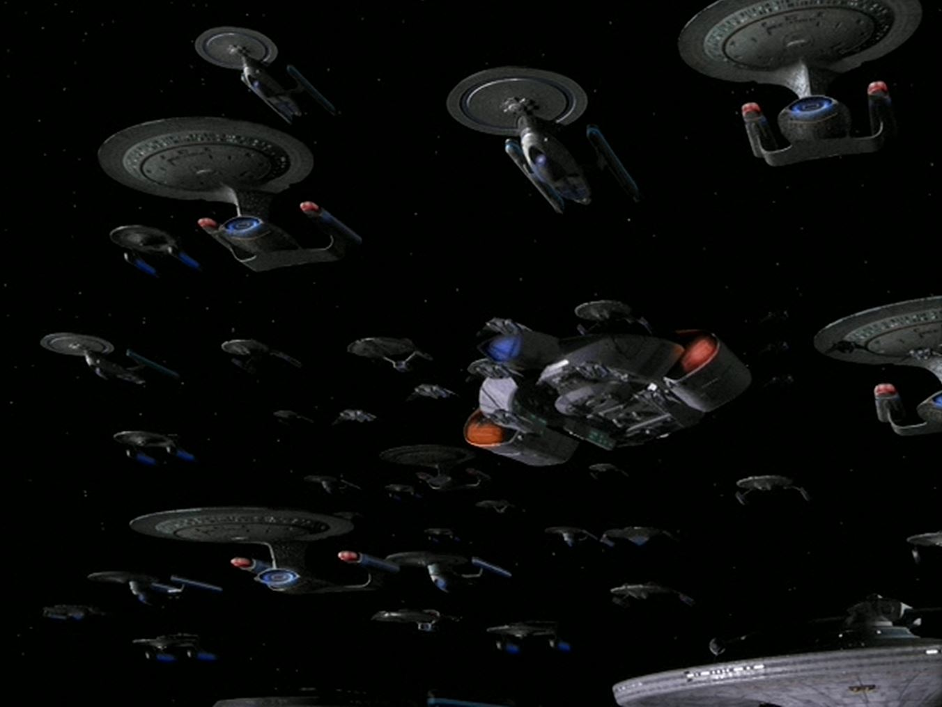 Fleet on Star Trek Federation Klingon Romulan Fleet