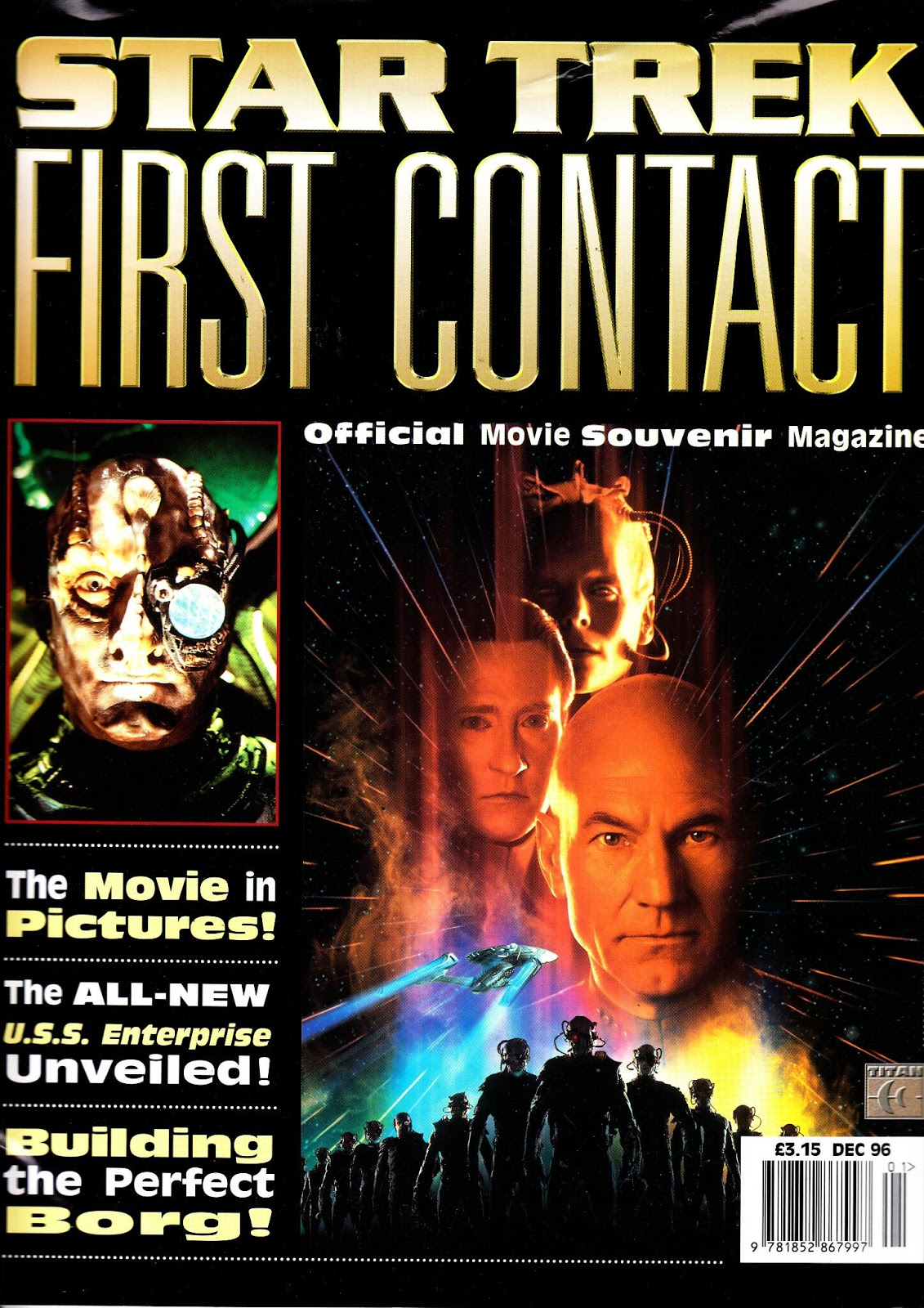Star Trek: First Contact - Official Movie Souvenir Magazine | Memory Alpha | FANDOM powered by Wikia