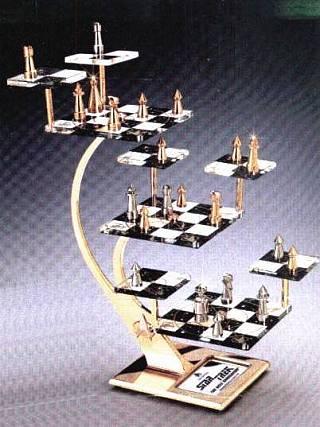 Star trek the next generation tridimensional chess set memory alpha fandom powered by wikia - Tri dimensional chess ...