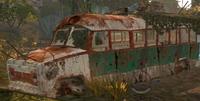 PLAV converted bus