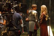 Bradley James and Emilia Fox Behind The Scenes Series 2