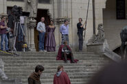 Angel Coulby and Bradley James Behind The Scenes Series 5-2